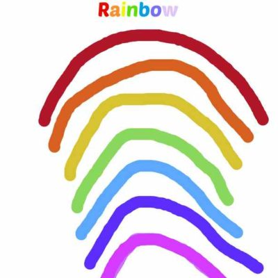 Connect and Learn with preschoolers – Rainbows