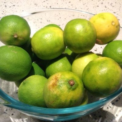 Let's Count the Limes