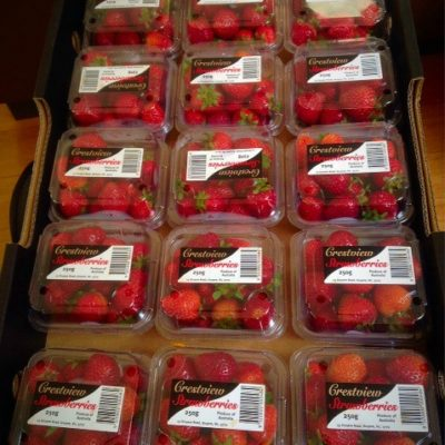 How Much is each Punnet of Strawberries?
