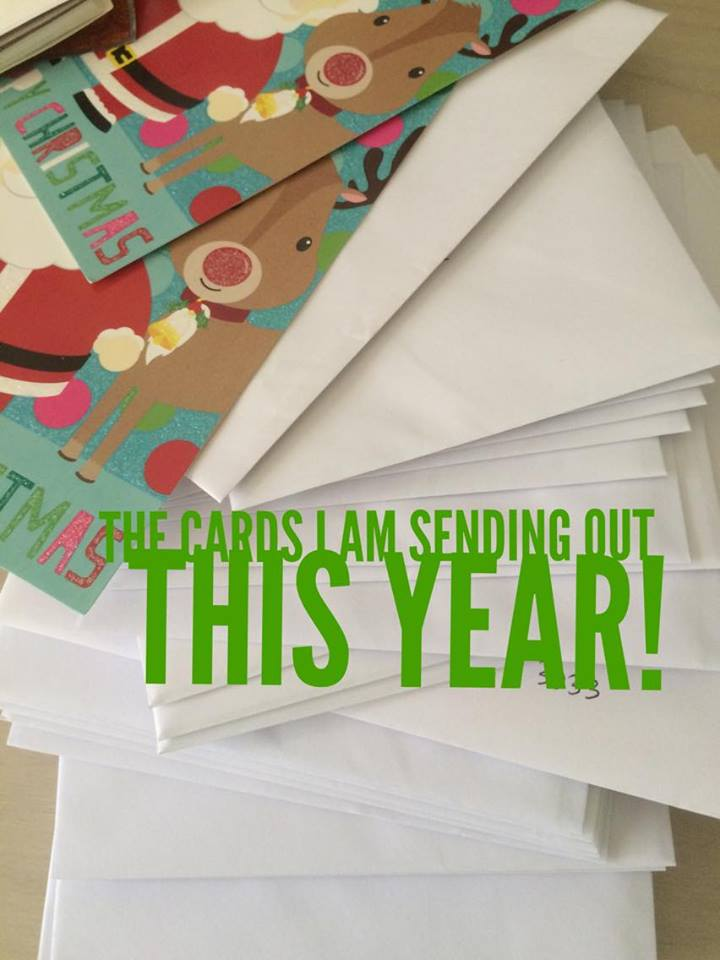 cards-i-am-sending-out-this-year