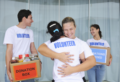 Connect and have fun through volunteering with your children